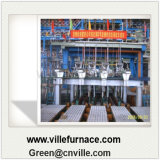 5つの繊維の鋼片の連続鋳造機械CCM