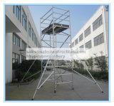 Coffre-fort réussi ce tour d'aluminium échafaudage