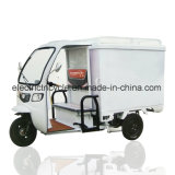 Cheap triciclo eléctrico de 3 ruedas moto de carga el precio, la cabina cerrada la fábrica de bicicletas