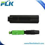 L'Assemblée rapide de gisement de câble fibre optique de FTTH Sc/APC jeûnent connecteur