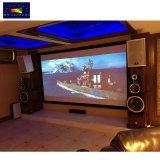 "X-YスクリーンHDプロジェクタースクリーン、150 "" 16:9 HK80c-Mf1の高利得3Dスライバ固定わくの映写幕"