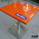 Современные твердой поверхности искусственного кварца камня мрамора верхней части обеденный стол