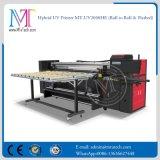 imprimante de grand format de 2m à plat et roulis pour rouler l'imprimante de Digitals UV d'imprimante à jet d'encre de DEL