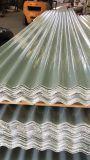 Les panneaux de toiture en verre de fibre, FRP ont ridé la feuille de toiture, panneau de plastique de fibre de verre