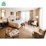 큰 연한 색 호텔 침실 가구 세트 장식 객실 가구