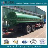 HOWO 290HP 6X4 camion del serbatoio di acqua da 12000 litri