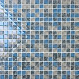 mosaïque de verre cristal de 15X15mm pour la mosaïque de mode de piscine