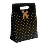 Bolsa de papel impresa insignia de encargo del regalo para el festival de las compras