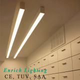 실내를 위한 LED Lienar 빛에 의하여 중단되는 선형 빛