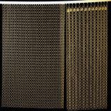 Acoplamiento de alambre arquitectónico decorativo del acero inoxidable/acoplamiento de la pared de cortina