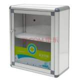 Установленный стеной алюминиевый шкаф скорой помощи для хранения микстуры