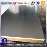 No. 1 placa laminada en caliente 10m m gruesa del acero inoxidable del final 321