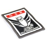 OEM Custom Owl bordados parches para Accesorios de ropa