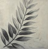 Pittura a olio della mano della tela di canapa stampata decorazione Handmade della parete di 100%