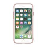 Кнопка Electroplating телефона охватывает случаи ИЗ ТЕРМОПЛАСТИЧНОГО ПОЛИУРЕТАНА для iPhone 8 Plus