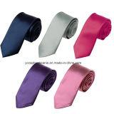 多色刷りの無地のネクタイ