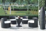 Sofà rotondo del rattan della mobilia del patio del giardino (TG-JW19)