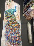 طاووس نوع خيش [أيل بينتينغ] حيوانيّة فنّ صورة زيتيّة لأنّ جدار زخرفة