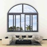 Doble ventana corrediza acristalada para materiales de construcción