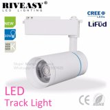Heißes Spur-Licht AC85-265V des Verkaufs-30W weißes Aluminiumder karosserien-LED