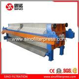 El bastidor de la placa de filtro prensa hidráulica para Aguas Residuales Dedusting
