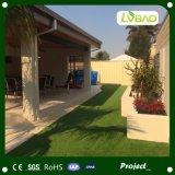 江蘇の工場からの緑の美化の人工的な草を支持するPE+PP