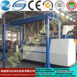 Machine de roulement de machine à cintrer de plaque de W12 quatre Rolls pour la chaîne de production de réservoir de doublure