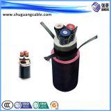 (BPGVFP3) Borracha de silicone/Acylonitrile-Butadiene/Al-Polyster protegida/cabo da alta temperatura/energia convertível/eléctrica da freqüência