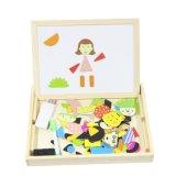 Puzzle magnético multifunción juguete de madera para niños
