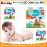 100 % Pampas doux sommeil les couches pour bébés de Guangzhou en Chine