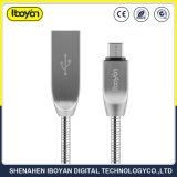 Micro USB de 1m Cable de carga de datos para teléfono móvil