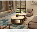 새로운 디자인 Originallity Gloden 색깔을%s 가진 현대 커피용 탁자