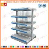 金網の冷たい鋼鉄スーパーマーケットの棚付けの記憶装置の表示棚(Zhs143)