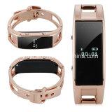 Braccialetto astuto dell'inseguitore di forma fisica della vigilanza di chiamata di sincronizzazione del braccialetto di sport di Smartband del Wristband di Bluetooth