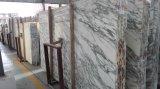 Камень Италии белый мраморный Arabescato