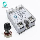 Le SSR-100AA 100UN CONTRÔLE 90V-250V AC Sortie 24V-240VAC monophasé relais SSR relais de l'état solide