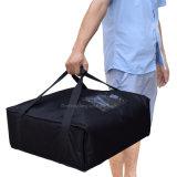 تسليم يحمل شركة نقل جويّ بلاستيكيّة يعزل بيتزا حقيبة