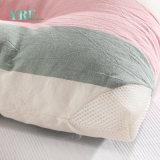 Стандартные роскошь хлопка розовая полосы удобные подушки для
