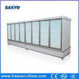 Compresor de cristal del refrigerador de la Multi-Cubierta de la puerta afuera