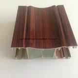 Quadrat, rundes, unterschiedliches Aluminiumlegierung-Strangpresßling-Profil für Tür und Fenster-Gefäß 53