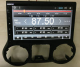 multimédios Android do carro 10.2inch para sistema estereofónico de rádio do Wrangler 2011-2016 do jipe o auto