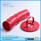 標準シリンダーのための綿の摩耗のリングが付いている樹脂Hgのフェノール
