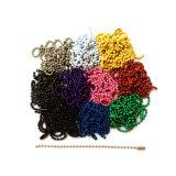 De goedkope Keten van de Manier van het Metaal/de Geparelde Ketting van de Bal (HSC0031)