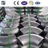 Soldadura de acero al carbono codo de 90 grados
