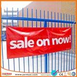 380GSM choisissent le drapeau estampé de PVC de vente de publicité