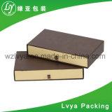 Exemple de conception personnalisée Diapositive attirer l'emballage du papier carton Bijoux boîte cadeau
