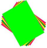 Клей флуоресцентные цвета бумаги