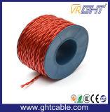 De transparante Flexibele Kabel van de Spreker (de Leider van 2X1.2mmsq CCA)