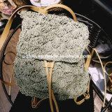 Seul sac élégant de sac à dos d'emballage d'armure de paille pour Madame