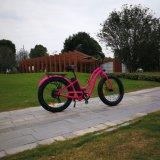 26pouces pneu Fat vélo électrique pour les femmes